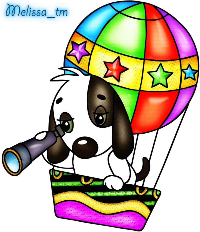Dog balloon clipart clipart library download cute dog in balloon png by Melissa-tm on DeviantArt clipart library download