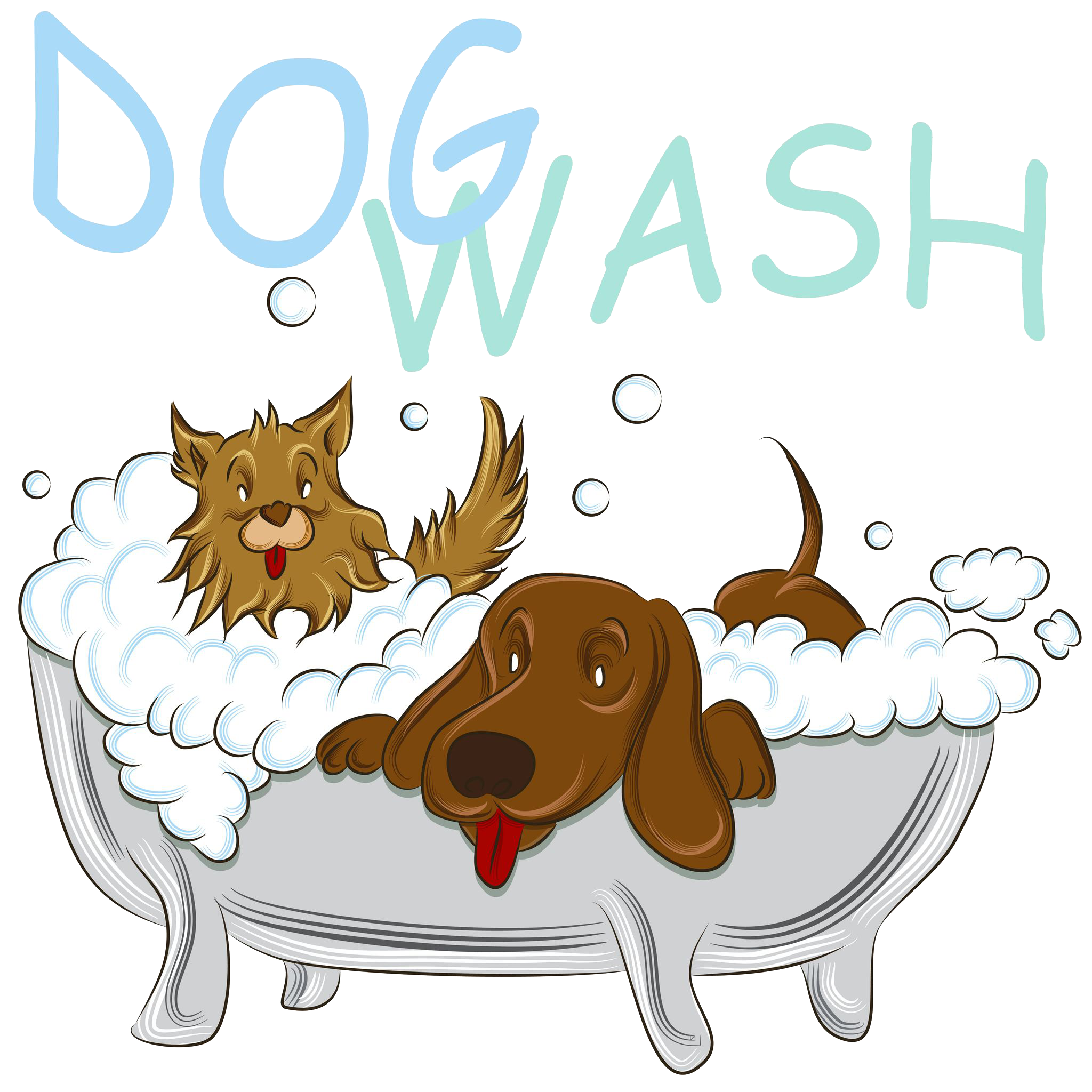 Dog in tub clipart. Become a trep i