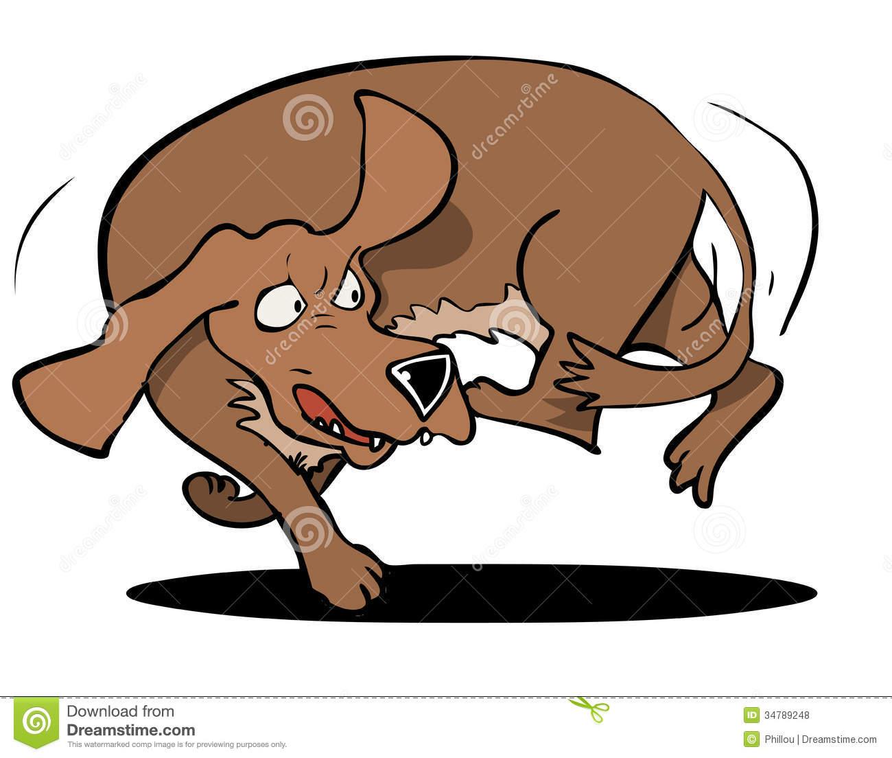 Dog biting tail clipart image transparent download Dog chasing tail clipart - ClipartFest image transparent download