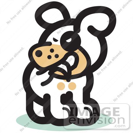 Dog biting tail clipart jpg black and white download Clip Art Puppy Dog Tails Clipart - Clipart Kid jpg black and white download