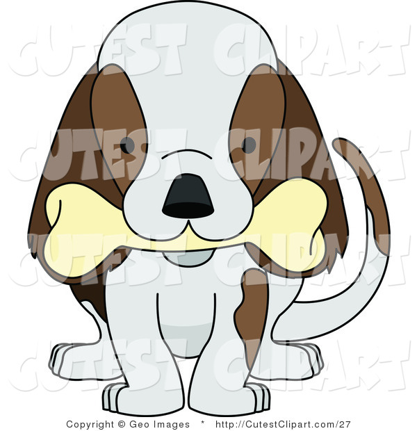Dog biting tail clipart vector library library Dog Chewing Clipart - Clipart Kid vector library library