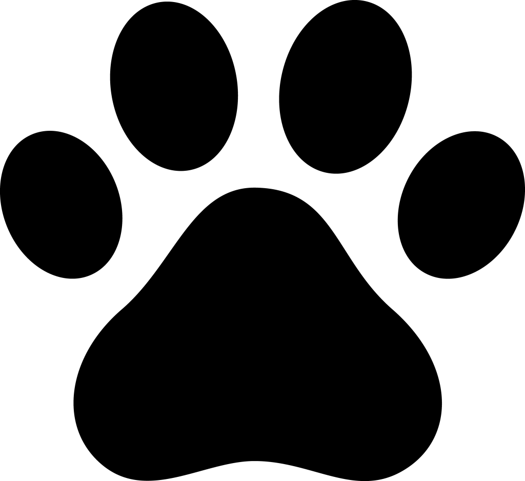 Png dog clipart picture black and white download dog-paw.png - use for a guide for a paw patrol paw print cupcake ... picture black and white download