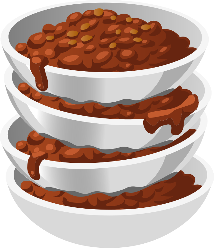 Dog bowl clipart transparent background svg freeuse stock Clipart - Food Chillybusting Chili svg freeuse stock