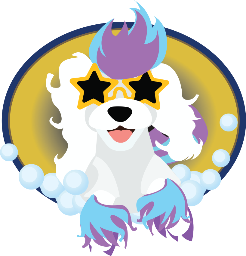 Dog brushing teeth clipart transparent Groom Stars | Where Your Pet is the Star! transparent