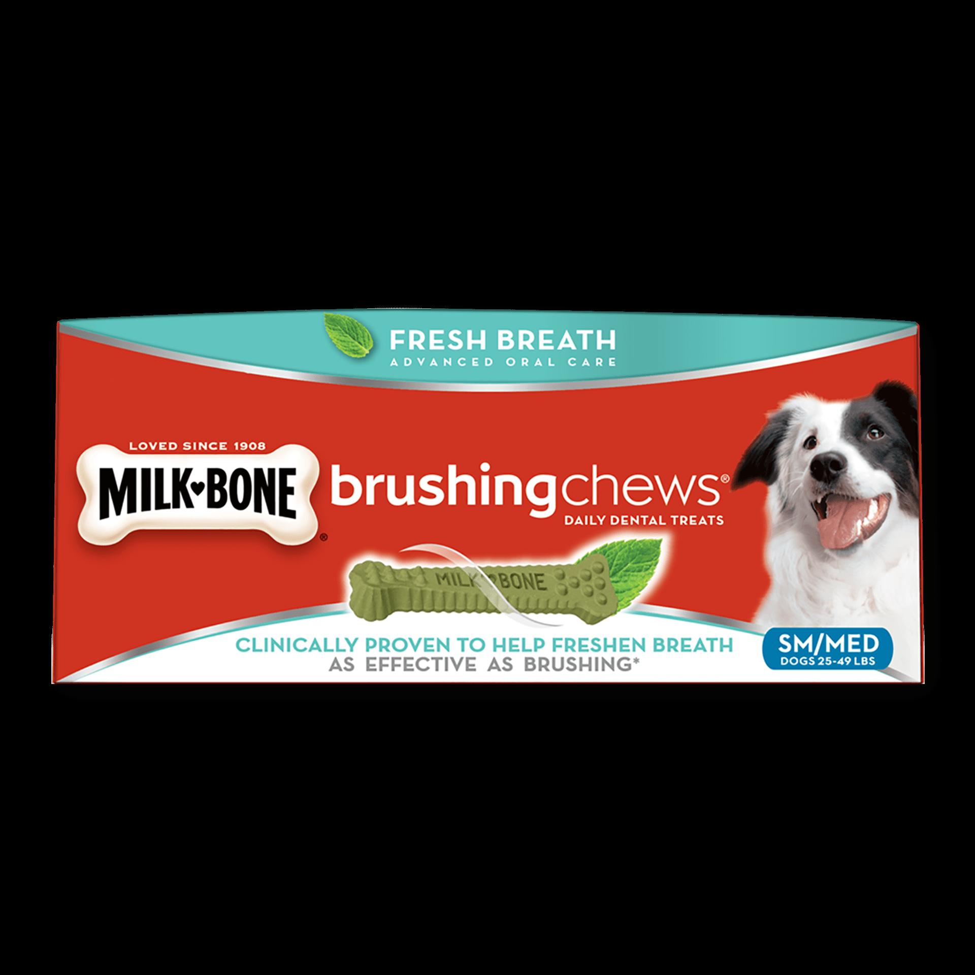 Dog brushing teeth clipart free stock Brushing Chews®: Dog Dental Treats for Strong Bones | Milk-Bone® free stock