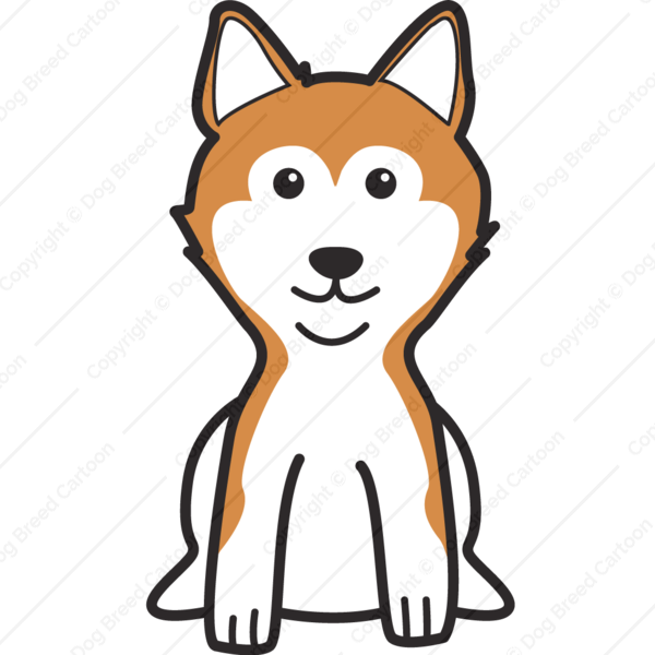 Dog butt clipart png black and white Shiba Inu Clipart at GetDrawings.com | Free for personal use Shiba ... png black and white