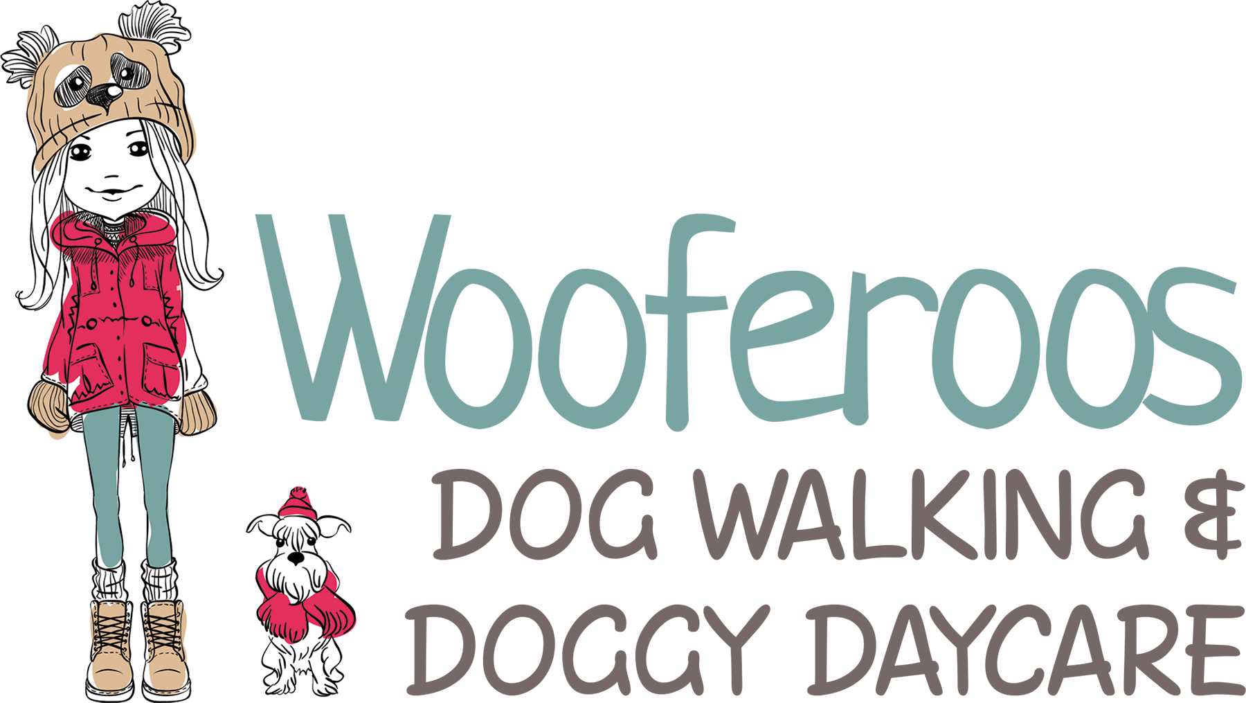 Dog care clipart clipart royalty free library WOOFEROOS DOG WALKER clipart royalty free library