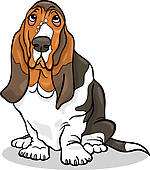 Clip art of cartoon. Dog chasing tail clipart