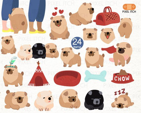 Dog chow clipart png transparent library CHOW CHOW DOG. Chow clipart. Dog clipart. Puppies clipart. Puppy ... png transparent library