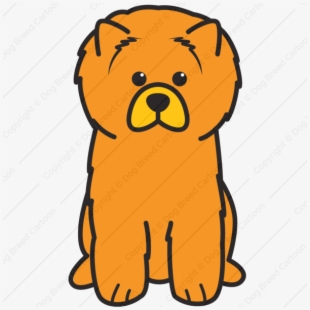 Dog chow clipart graphic free library Chow Chow Clipart - Chow Chow Dog Easy To Draw #2598107 - Free ... graphic free library