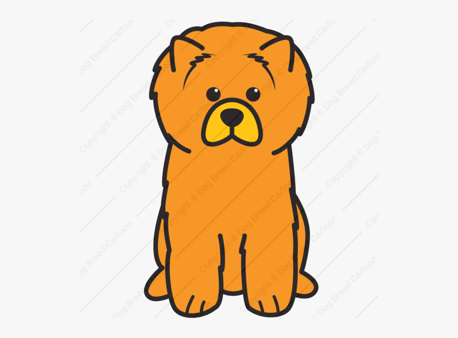 Dog chow clipart graphic library download Chow Chow Clipart - Chow Chow Dog Easy To Draw #2598107 - Free ... graphic library download