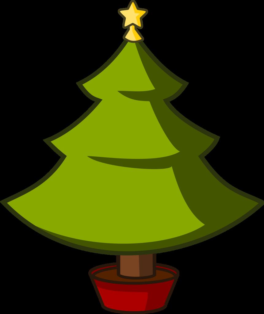 Dog christmas tree clipart image black and white library Cartoon Xmas Tree Clipart Christmas | typegoodies.me image black and white library