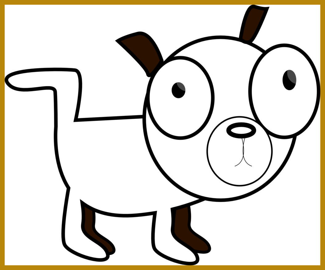 Dog clipart black picture transparent The Best Sad Puppy Face Cartoon Clip Art Image For Dog Black And ... picture transparent