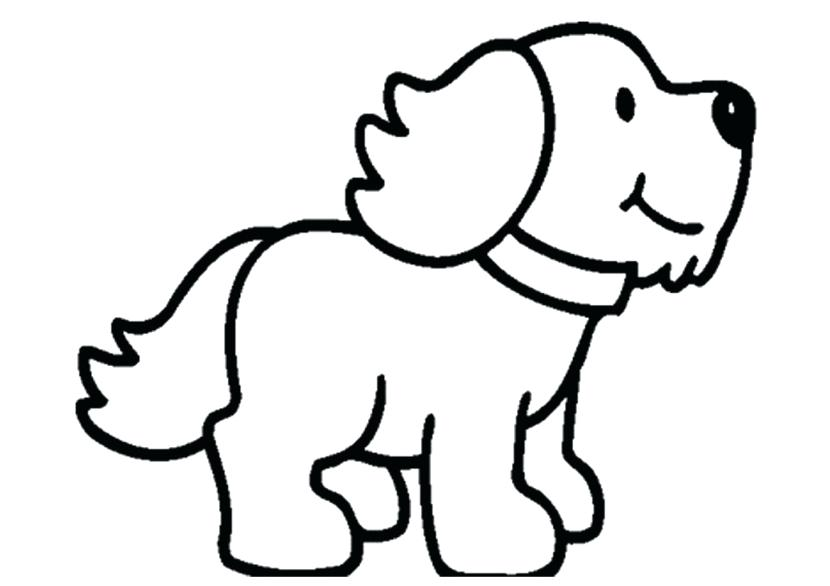 Dog clipart black and white outline vector freeuse stock Cute Puppies PNG Black And White Transparent Cute Puppies Black And ... vector freeuse stock