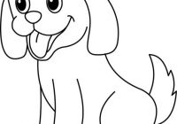 Dog clipart black and white outline black and white download Puppy Clipart Black And White Felt Board Dog Outline Classy Terrific ... black and white download
