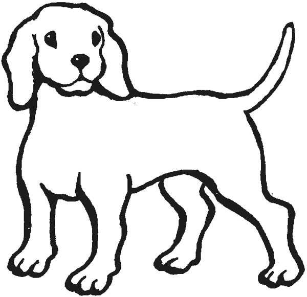 Little dog clipart in black and white stock Outline Of A Dog - Cliparts.co | DRAWING | Dog outline, Animal ... stock