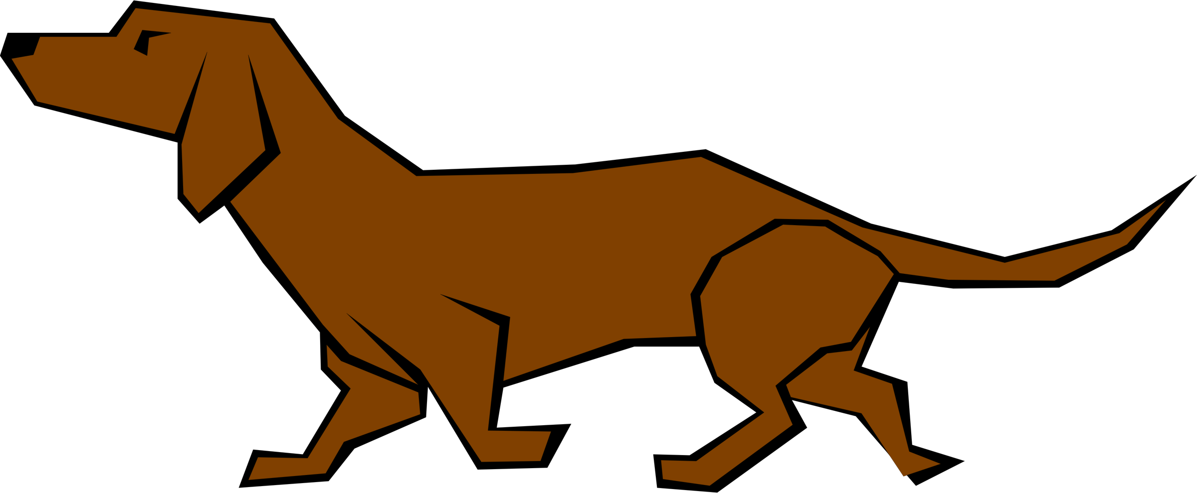 Feral dog clipart picture Dog Clipart Easy picture