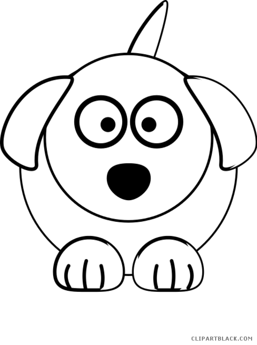 Dog clipart free black and white clip royalty free Black and White Dog Clipart - Page 4 of 5 - ClipartBlack.com clip royalty free