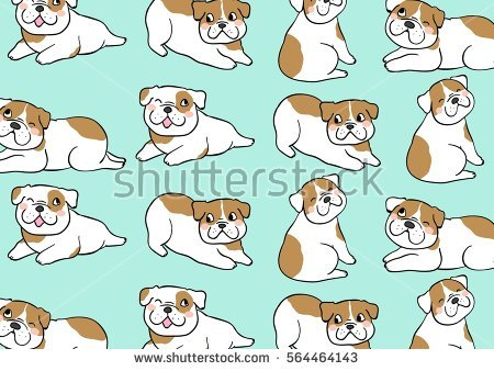 Dog clipart pastel black and white download Dog Pattern Stock Photos, Royalty-Free Images & Vectors - Shutterstock black and white download