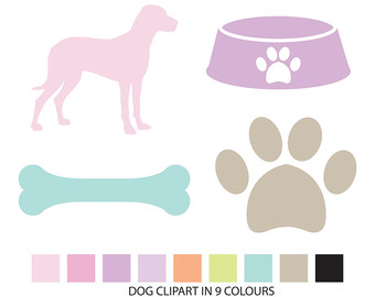 Dog clipart pastel vector library stock Dog clipart pastel - ClipartFest vector library stock