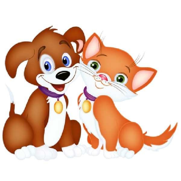 Clipart cat eating clipart Dog cat clipart png transparent - ClipartFest clipart