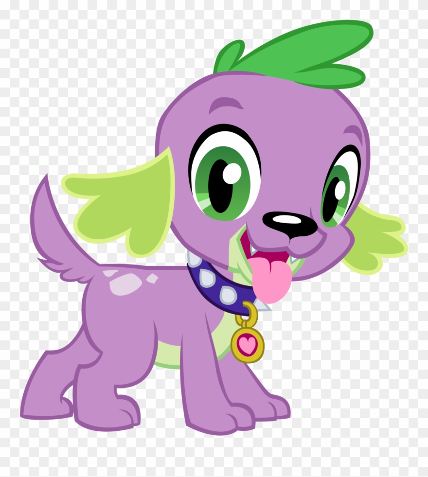 Dog clipart spike vector black and white stock This Is My And Lord Kyle\'s Cast Of Movie-spoof Called - Mlp Spike ... vector black and white stock