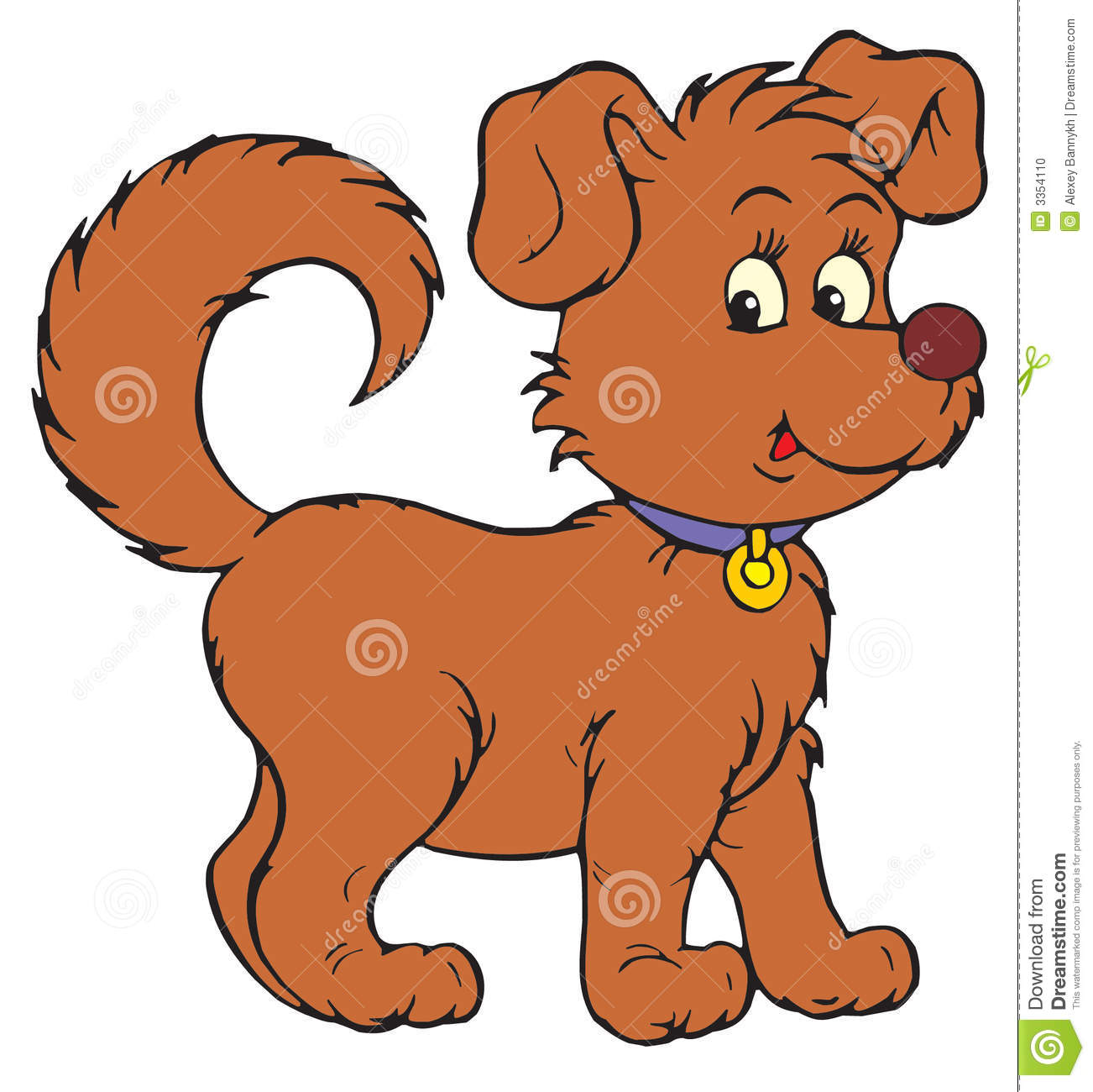 Dog clipart stock vector library stock Dog (vector Clip-art) Stock Photos - Image: 3279703 vector library stock