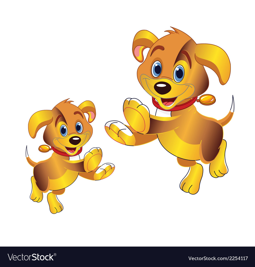 Dog clipart vector picture freeuse download 3D cartoon dog clipart picture freeuse download