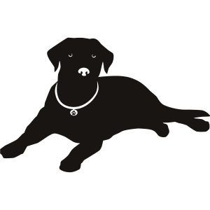 Dog collars free clipart black and white clip download Free Clipart. Lab Dog Silhouette Our Labrador Retriever Dog Breed ... clip download