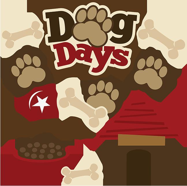 Dog days clipart banner library Dog Days SVG scrapbook collection dog svg files for scrapbooks pet ... banner library