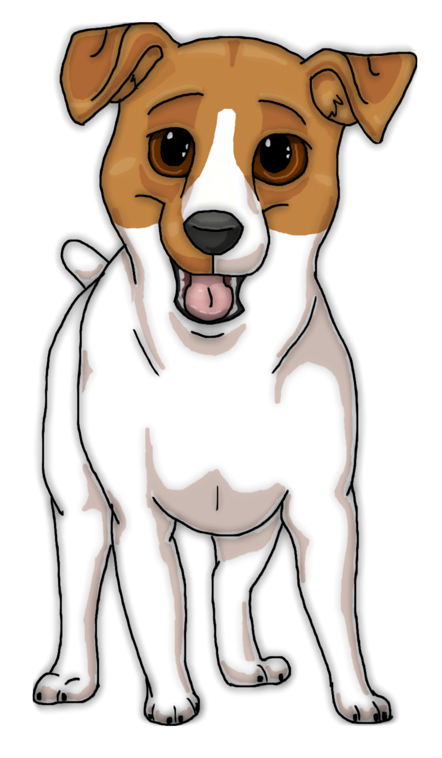 Dog dead clipart svg freeuse download Jack Russell Clipart at GetDrawings.com | Free for personal use Jack ... svg freeuse download