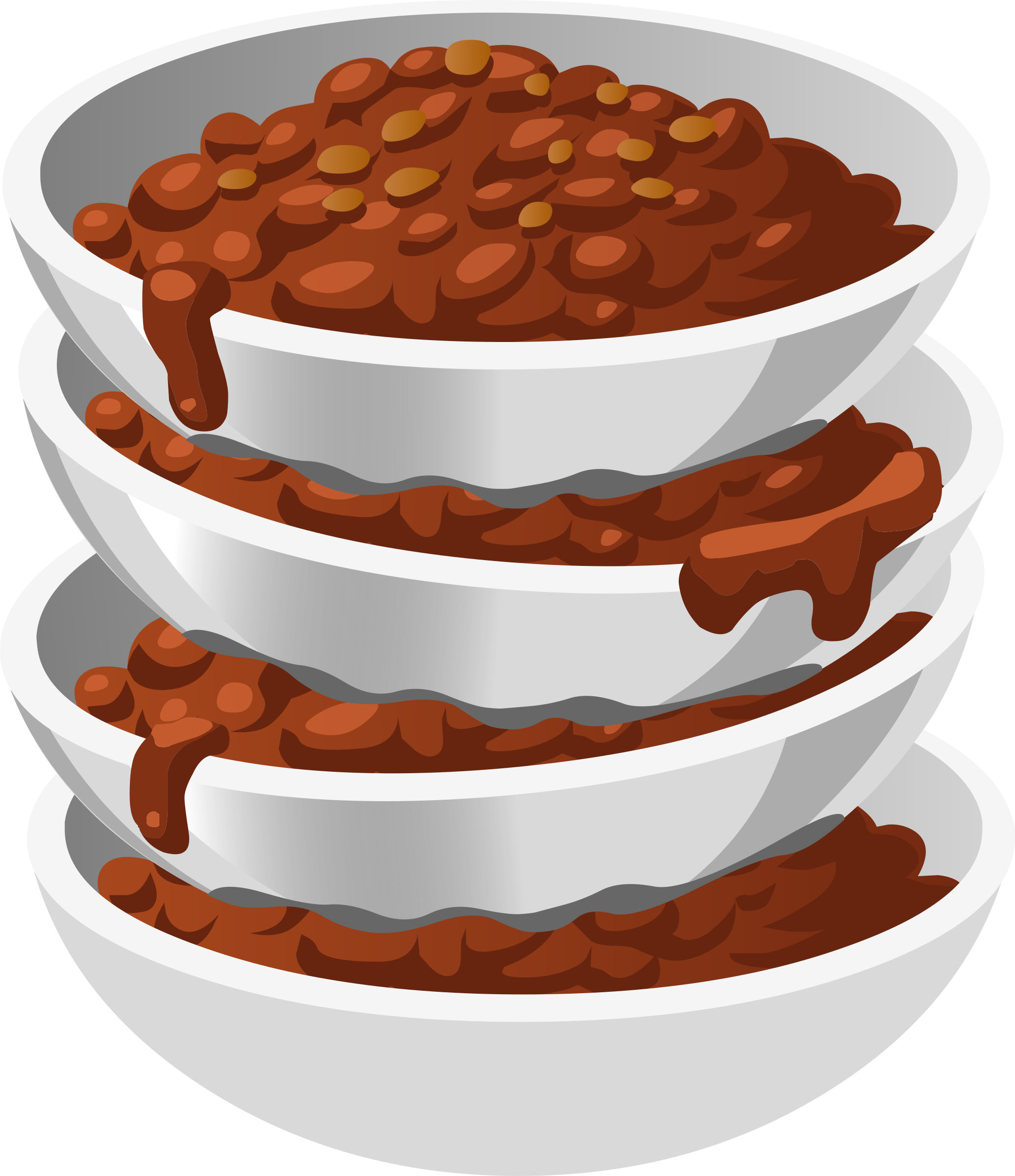 Dog dish clipart picture Clipart - Food Chillybusting Chili picture
