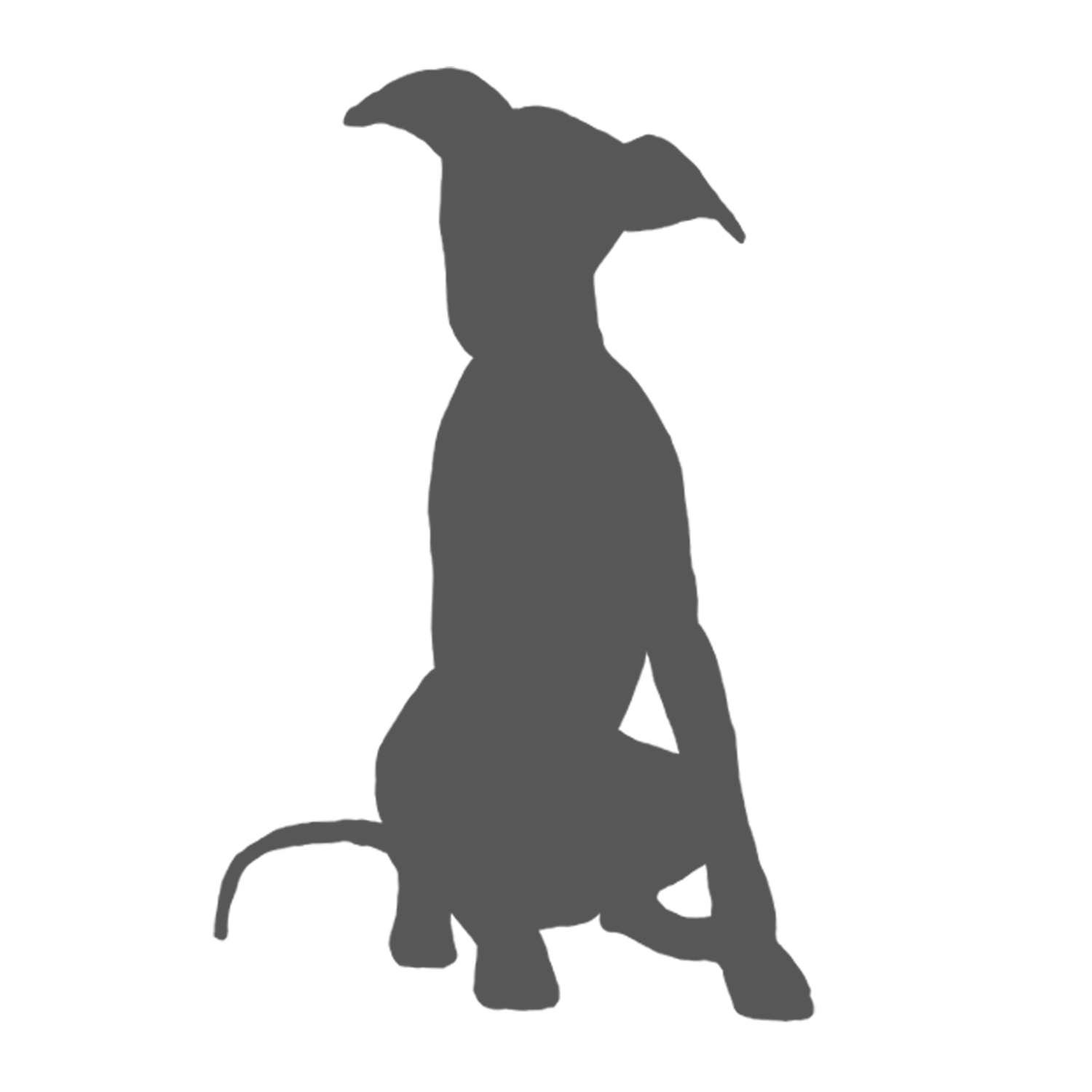 Dog donating money clipart jpg black and white library whippet silhouette - Google Search | Whippet life | Pinterest ... jpg black and white library