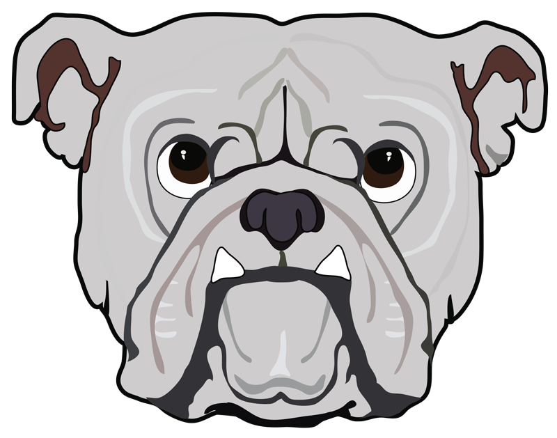 Dog growling clipart svg library bar charlotte - Bulldog Beer & Wine svg library