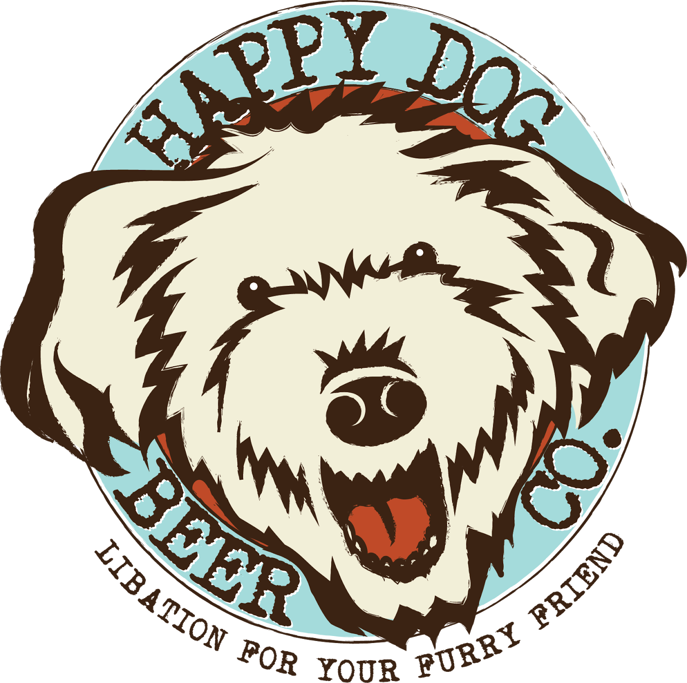 Happy dog face clipart svg transparent Our Story — Happy Dog Beer Co. svg transparent