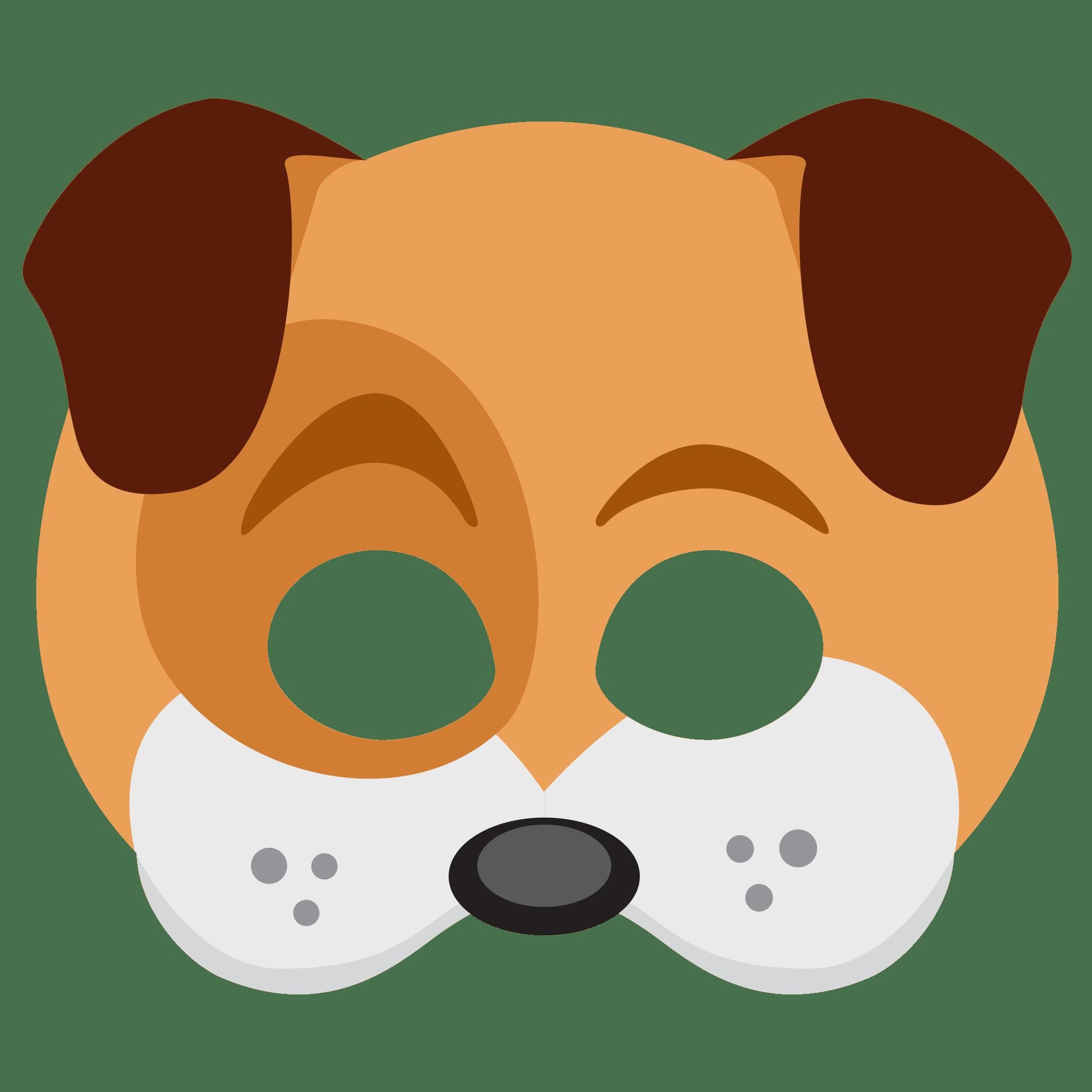 Dog ears clipart clip art download Snapchat Dog Face Sticker transparent PNG - StickPNG clip art download