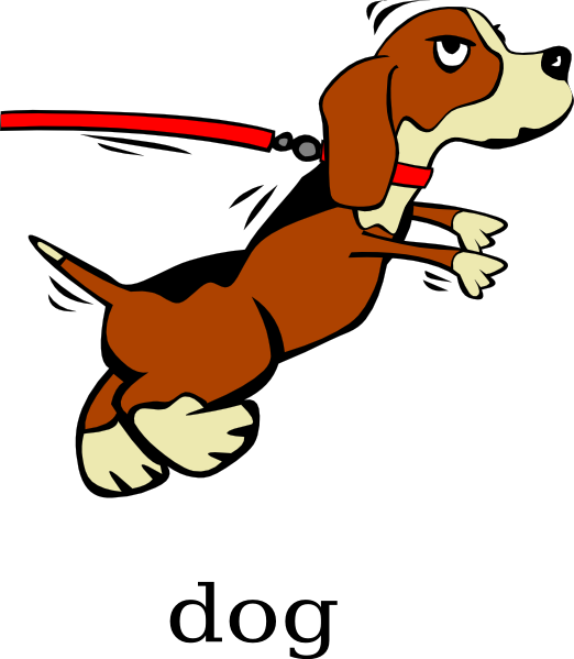 Clip art at clker. Family clipart with dog