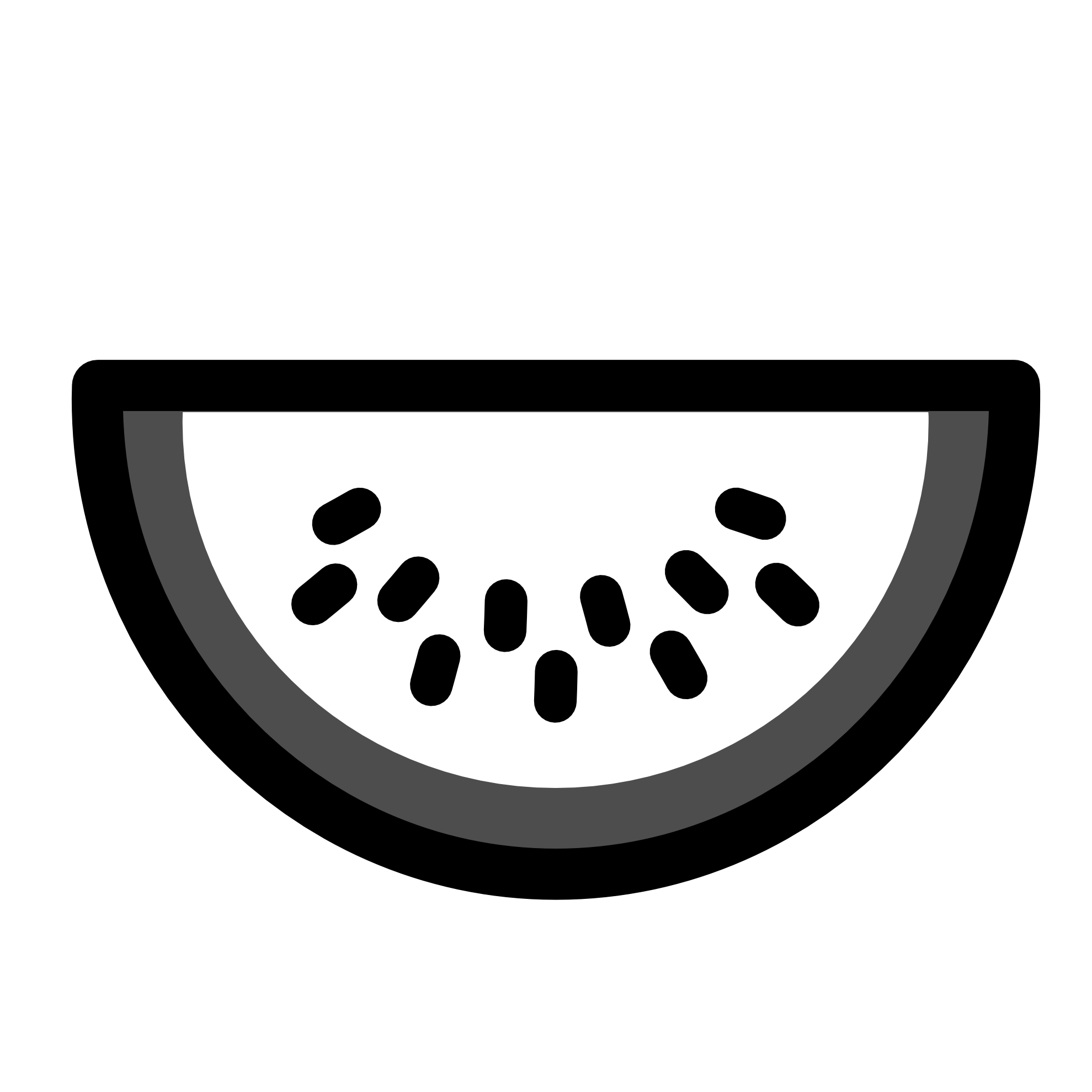 Watermelon free download best. Dog food clipart black and white