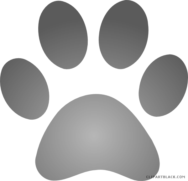 Dog footprints clipart jpg black and white library Dog Paw Prints Clipart - ClipartBlack.com jpg black and white library