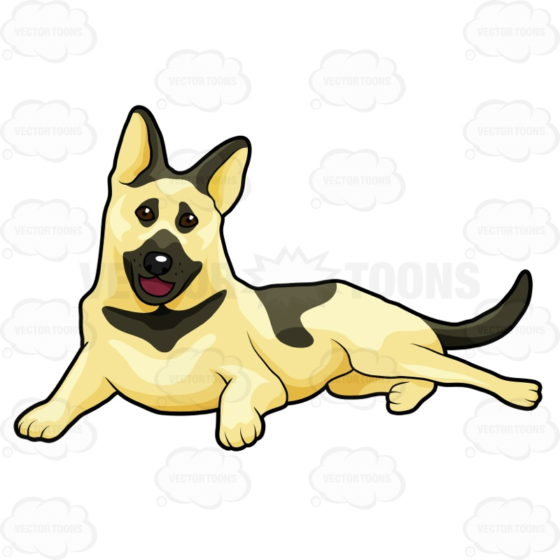 Dog hair standing up on back clipart jpg transparent Dog Laying Down Clipart | Free download best Dog Laying Down Clipart ... jpg transparent