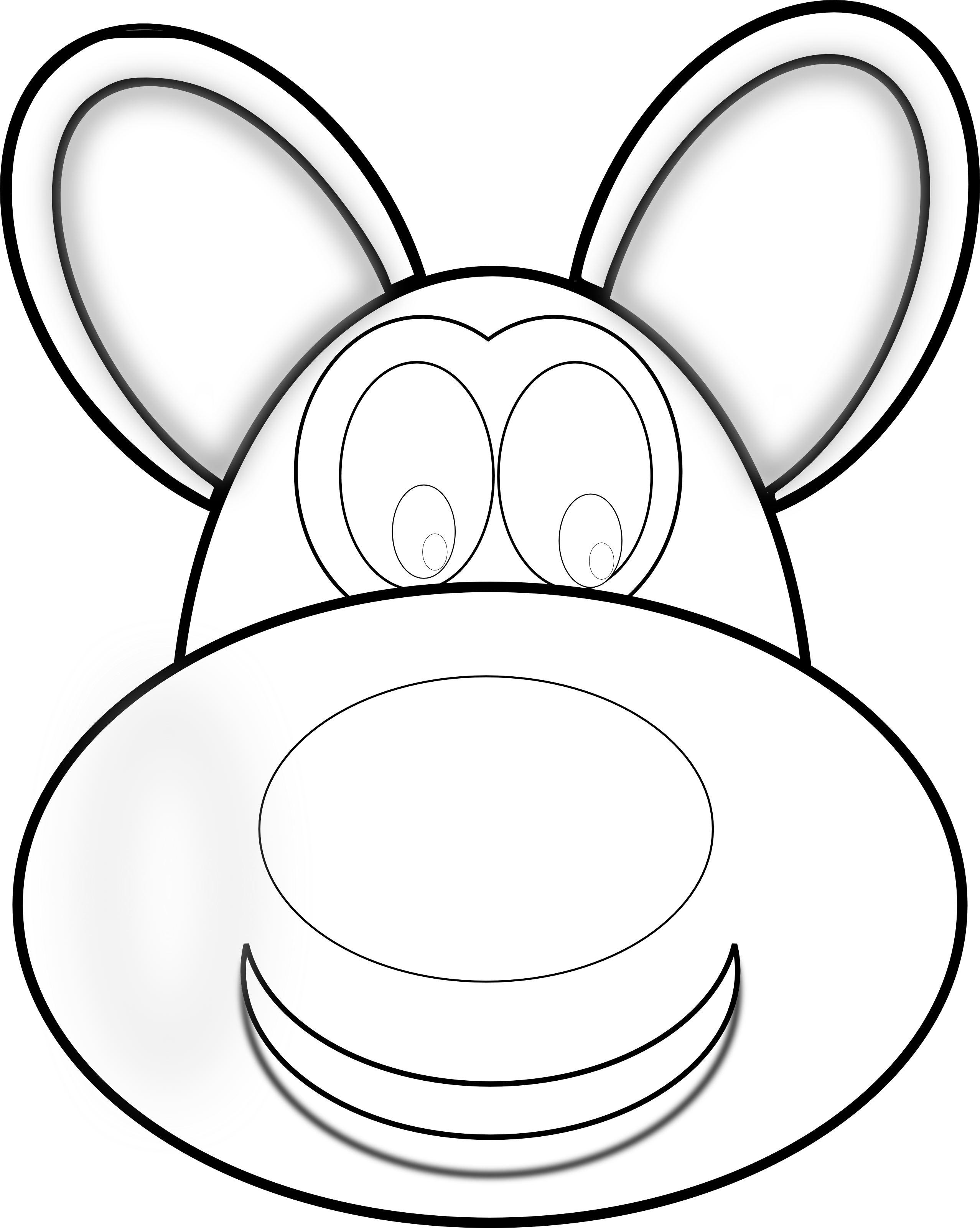 Dog head clipart black and white vector free download Stuffed Animal Clipart dog - Free Clipart on Dumielauxepices.net vector free download