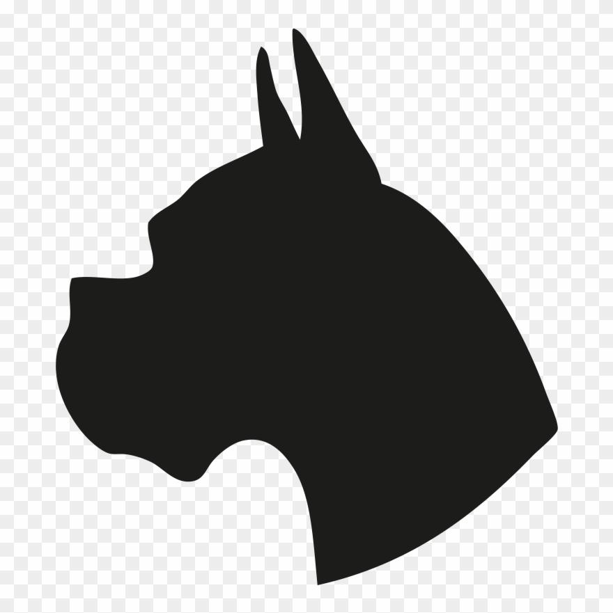 Dog head silhouette clipart clip art stock Silhouette Of A Dog Head Clipart (#1386292) - PinClipart clip art stock