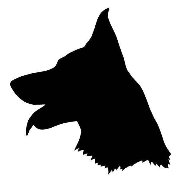 Dog head silhouette clipart jpg royalty free stock Dog Head Silhouette Clipart | Free download best Dog Head Silhouette ... jpg royalty free stock