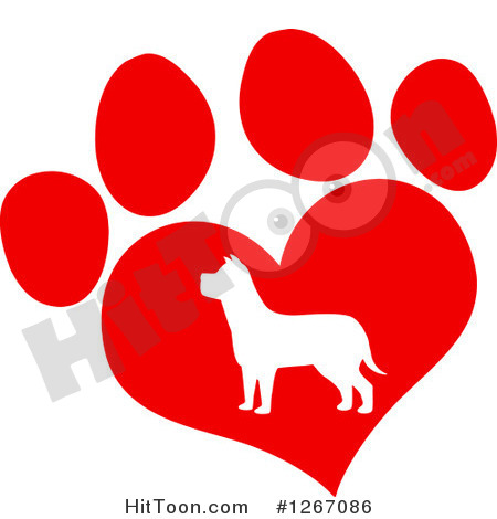 Dog hearts clipart clip art freeuse library Dog hearts clipart - ClipartFest clip art freeuse library