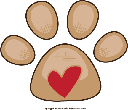 Dog hearts clipart picture transparent Dog hearts clipart - ClipartFest picture transparent