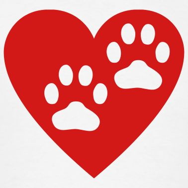 Dog hearts clipart clip free Dog and heart clipart - ClipartFest clip free