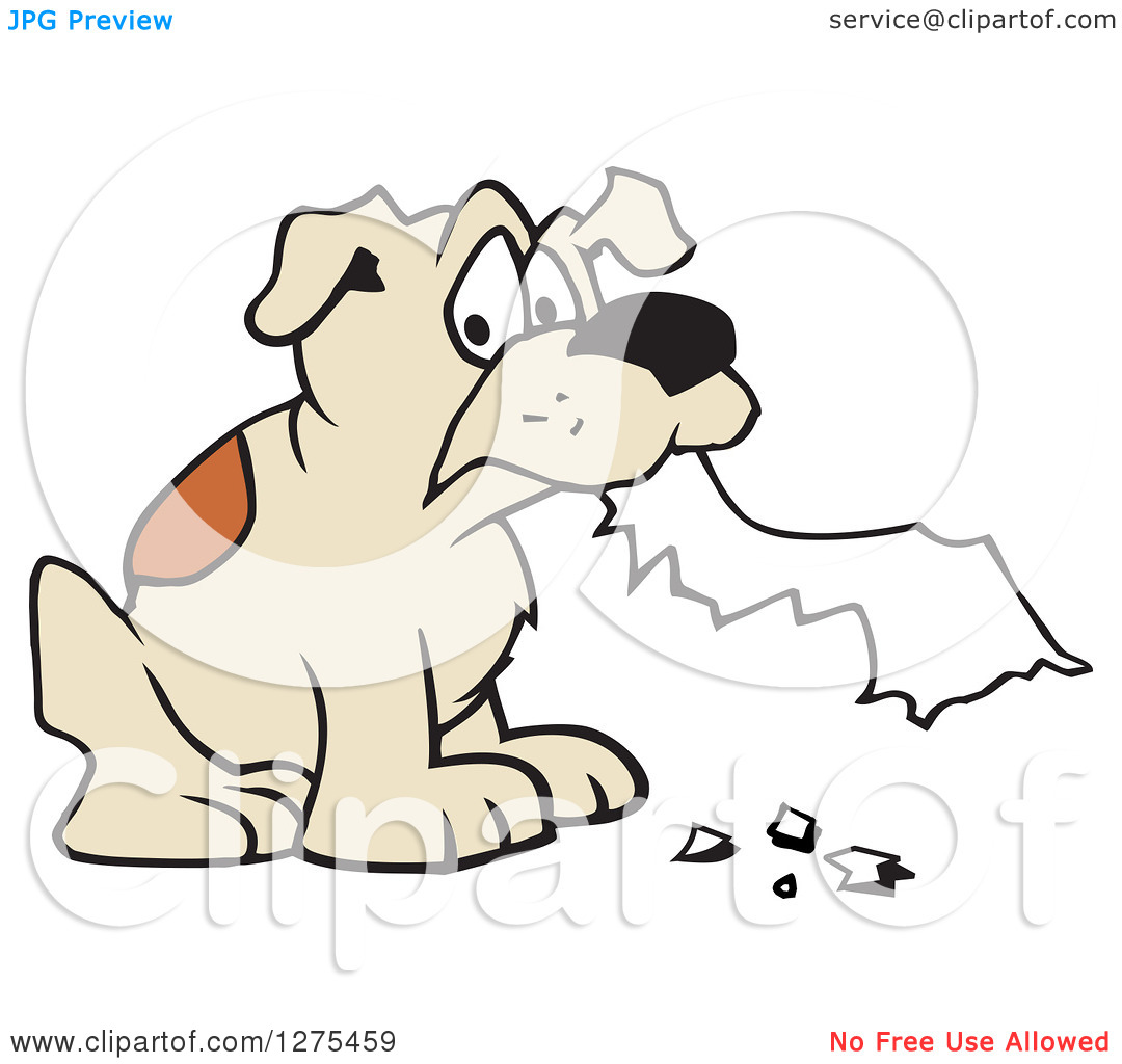 Dog homework clipart clipart svg freeuse stock Dog Eating Homework Clipart - Clipart Kid svg freeuse stock