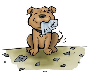 Dog homework clipart clipart vector library stock My dog ate my homework clipart - ClipartFest vector library stock