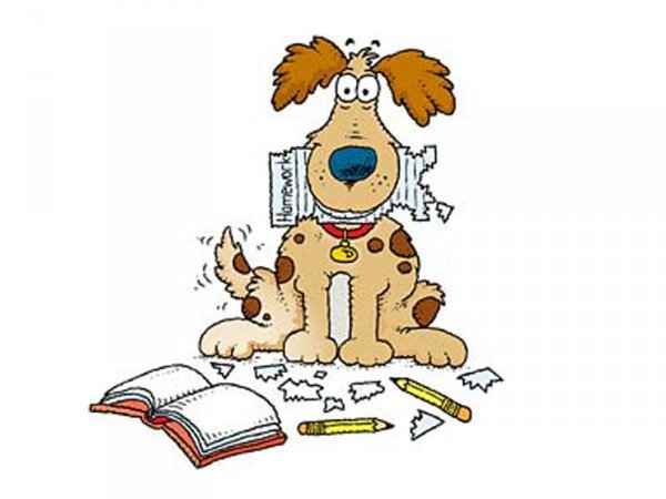 Dog homework clipart clipart png library library Dog homework clipart clipart - ClipartFest png library library