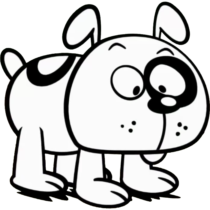 Dog house black and white clipart image royalty free library Charles | The Loud House Encyclopedia | FANDOM powered by Wikia image royalty free library
